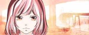 Ao Haru Ride | Colored Gif by Knightwalker08