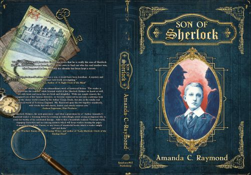Son of Sherlock - Book Cover by Whendell
