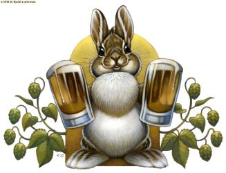 Bunny Hops Beer by kyoht