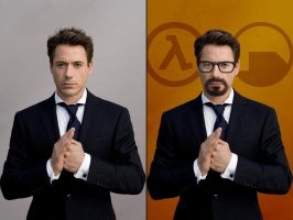 Robert Downey Freeman by EspionageDB7