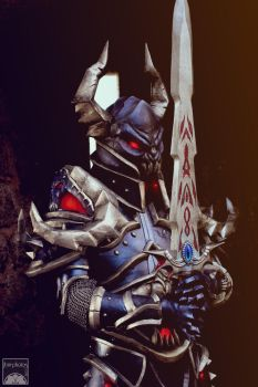 Black Knight and Runed Soulblade by BlackOwlStudio