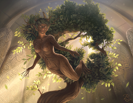 Lund ~ Goddess of Nature by Blunell