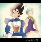 His Bulma/Her Vegeta by FireNationPhoenix