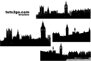 London building brushes by akaleez88