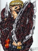 Wesker Mutated by Chibi-Goddess-Ny