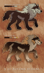 [Flat Sale] Autumn Adoptables [OPEN] by Wulfghast