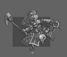 Gnome Cleric by cwalton73