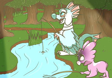 .::Quest: Fishing::. Please save me by TheWalkingEvergreen