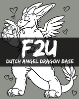 F2U Dutch Angel Dragon Base by XxWolfArtxX