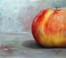 A half of the apple by chebot