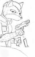 Fox MCcloud by Lavawolf