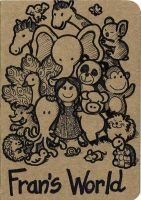 Sketchbook Cover, cute animals by dreamsaddict