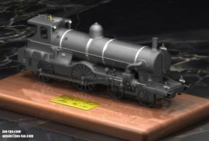 Old train model by juntao