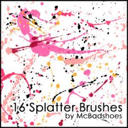 Splatter 4 by mcbadshoes