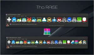 Tha RAISE WinRAR theme by alexgal23