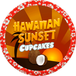 Hawaiian Sunset Cupcakes by Echilon