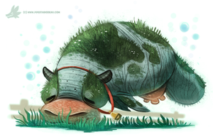 Day 814# Sea Cow by Cryptid-Creations