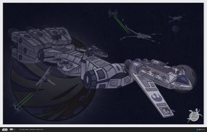 ILM Challenge: The Ride - Siot-wing by SickletheTrioos