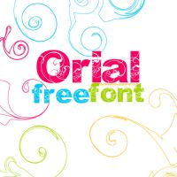 Orial Free Font to Download by sheslikeadream