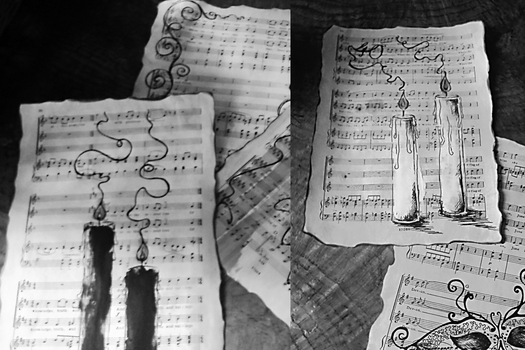 Sheet Music by clvmoore