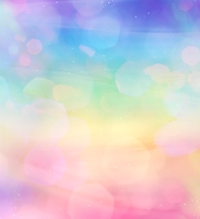 Rainbow Background Bokeh by KihOskh714