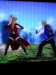 Dead or Alive 5 Last Round: Sarah vs Jacky by popularca2