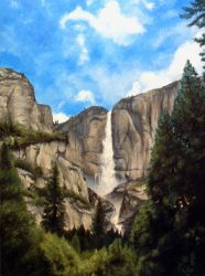 Yosemite Falls by T-Tiger