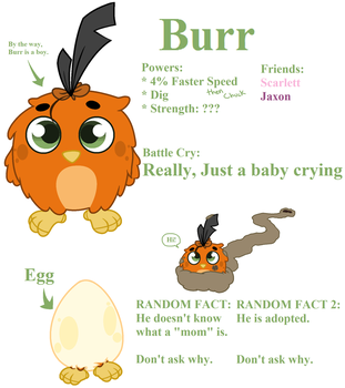 Angry Birds child - Burr by Starshine1464