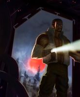 Barret Wallace by FabianCobos