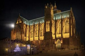 The Cathedral St Etienne - METZ by Marcusion
