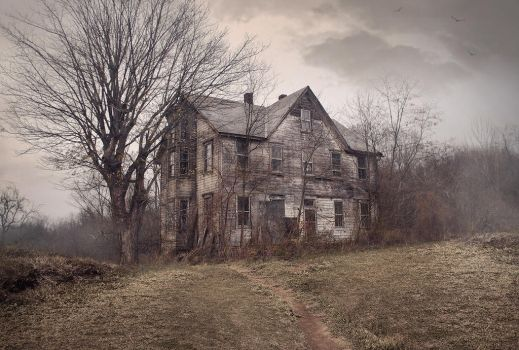 The haunted house by Desertroseimages