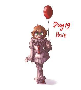 Day 19 - Pennywise from IT by paragonkell80