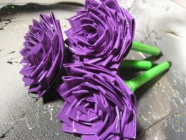 Duct Tape Roses by Christine-Eige