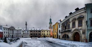 Sopron - Main square (winter edition) by DS1985