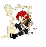 Gaara of the Sand Castle by inugirl739