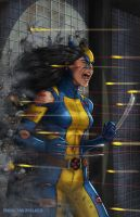 All New Wolverine cover sample by MetaWorks