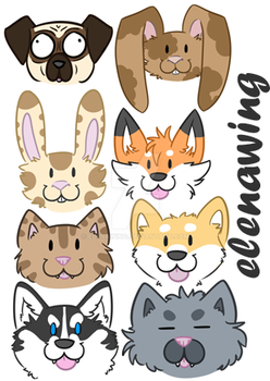Cuties Examples by elenawing
