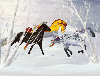 Dashing Through the Snow by newvoh