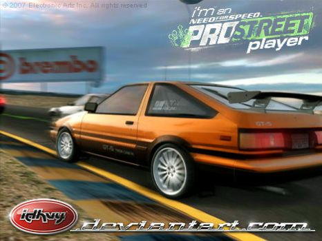 NFS Pro Street Player by idhuy