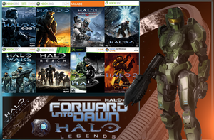 Halo Games (Collection) With The Master Chief by KILLthatThing
