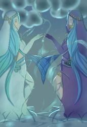 The Water Maiden Reflects by Gimmickry