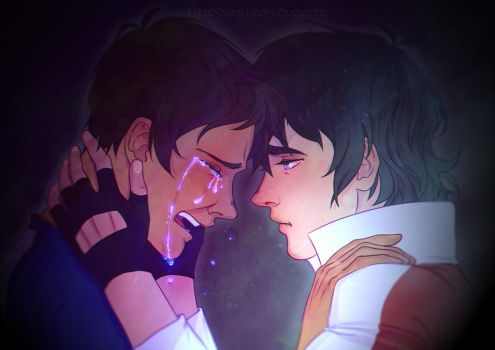[VOLTRON] Klance - An Ocean of Tears by Kethereal