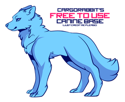Free To Use Canine Base by Cargorabbit