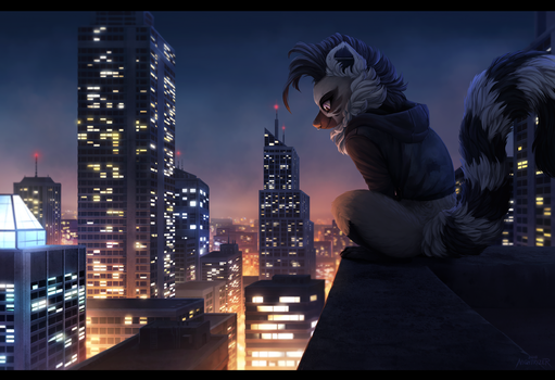 City Heights by Nightrizer