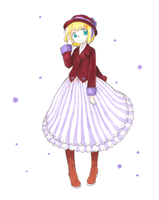 Hetalia~Liechtenstein by dream-thunder