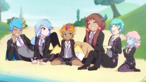 Ditching Class (MLPS8E01) by JonFawkes