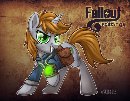 Fallout Equestria: Little Pip by Sciggles