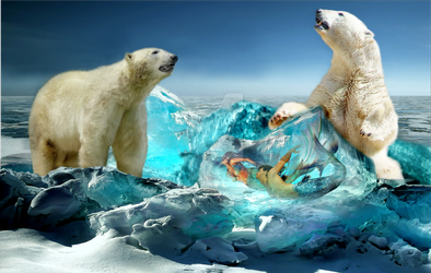 trapped in the ice -1 - by paulchenpanter59