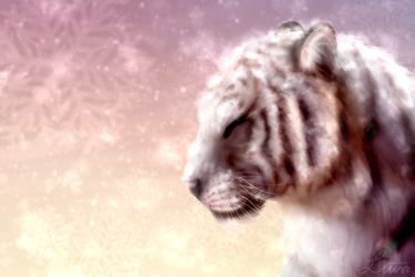 White Tiger by LiussSteen
