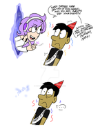 Birthday Surprise for Mark! by PrettyXTheXArtist